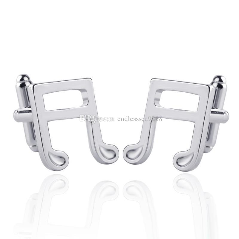 1 Pair Silver Color Copper Metal Airplane Cufflinks for Mens Jewelry Gift