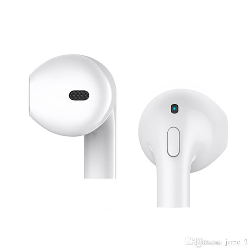Mini-i8x Kopfhörer mit Mikrofon 3D Surround Sound Sport Kopfhörer Bluetooth One Button Mini Ohrhörer Wireless Ohr Handy Kopfhörer