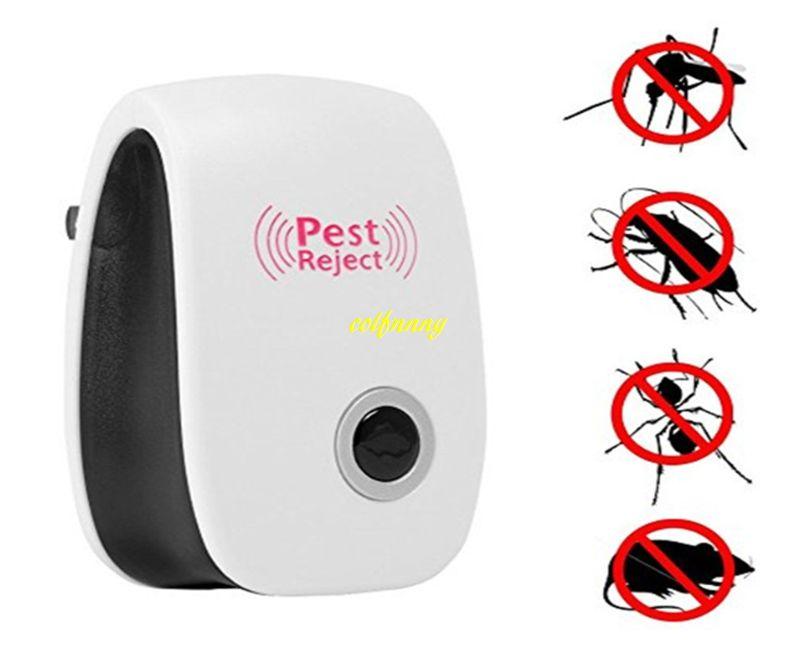 1pcs Бесплатная доставка ЕС США штекер электронный ультразвуковой анти вредителями ошибка москитная таракан мышь убийца отпугиватель