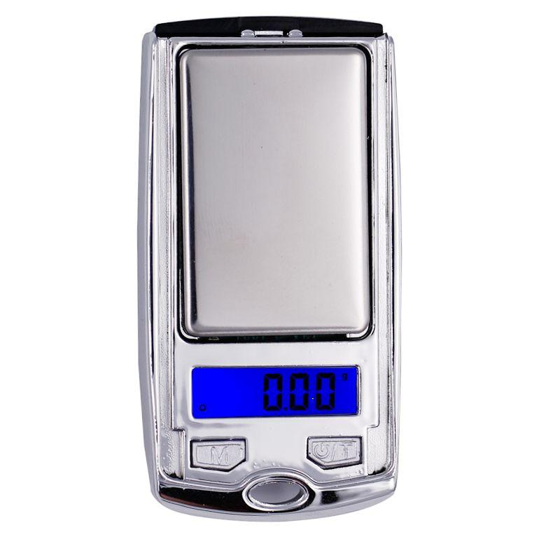مفتاح سيارة تصميم 200G العاشر والمجوهرات 0.01g البسيطة الالكترونية الرقمية مقياس ميزان الجيب غرام LCD