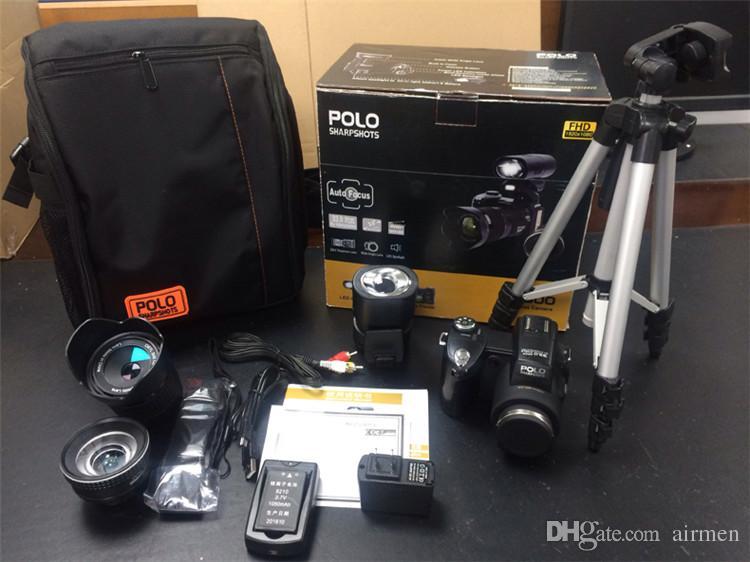 Nuova fotocamera digitale professionale aggiornata Protax POLO SLR D7300 33M Mega Pixel HD con obiettivo intercambiabile