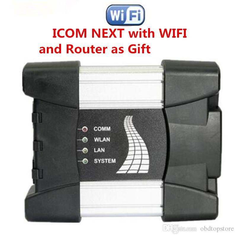 2020 Melhor qualidade ICOM seguinte com Wi-Fi e Router Para BMW ICOM A2 PRÓXIMO A + B + C 2.020,01 Software profissional do carro de diagnóstico