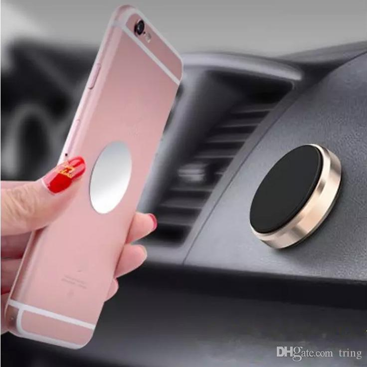 Car Mount Magnetic Universal Car Mount Phone Holder for phones One Step Mounting ,Reinforced Magnet, Easier Safer Driving