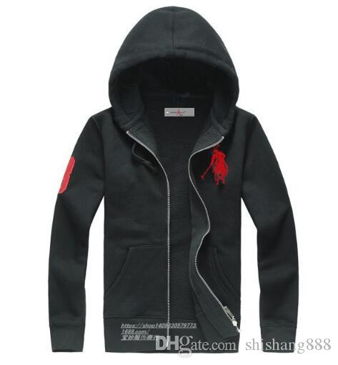 new Hot sale Mens polo Hoodies and Sweatshirts autumn winter casual with a hood sport jacket men's hoodies