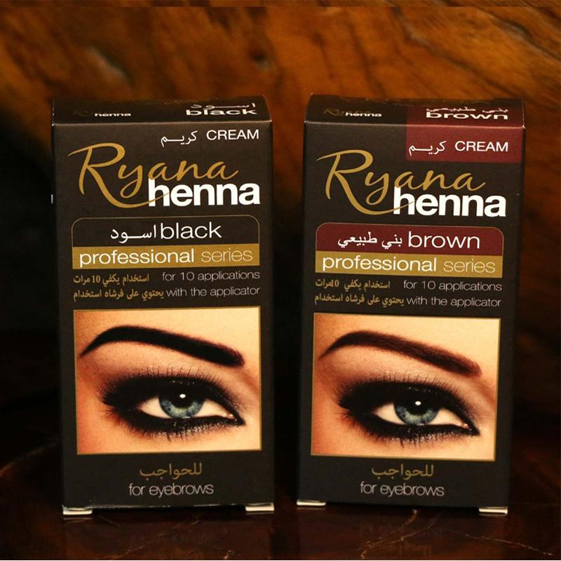 d5ca163c4 Ryana Henna Natural Eyebrow Tint Kit Brown Black Brows Dyeing Permanent  Eyebrow Cream Tattoo Painting Makeup Permanent Eyebrows Semi Permanent  Eyebrows From ...
