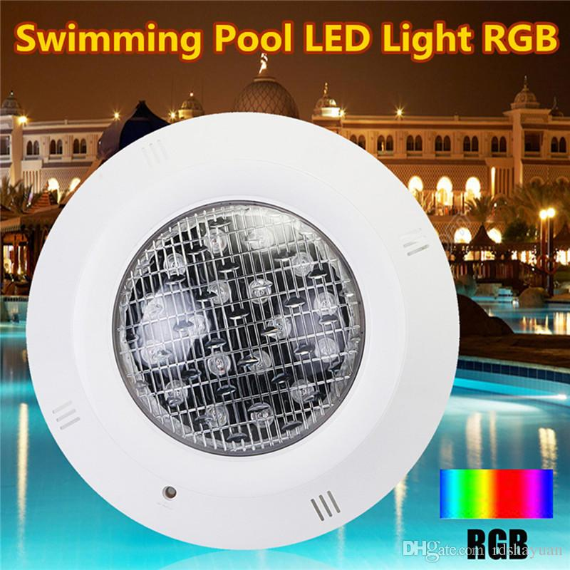 2019 18W LED Swimming Pool RGB Light Underwater Lights IP68 Waterproof AC  12V + Remote Controller From Rdshayuan, $145.75 | DHgate.Com