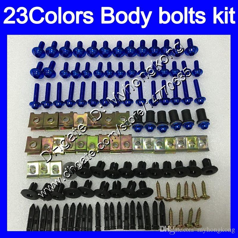 Fairing bolts full screw kit For KAWASAKI ZX2R ZXR250 93 94 95 ZX2R ZXR 250 ZX-2R ZXR-250 96 97 Body Nuts screws nut bolt kit 25Colors