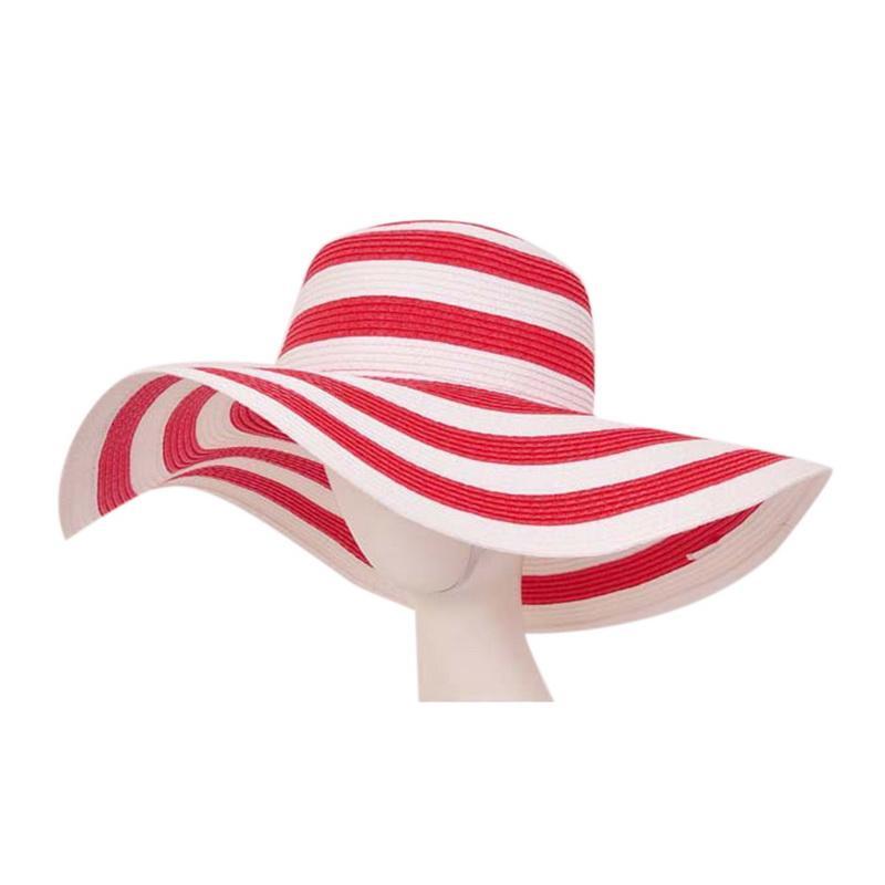 Compre Sombrero De Playa De Paja Para Mujer Ropa De Playa Sombrero ...