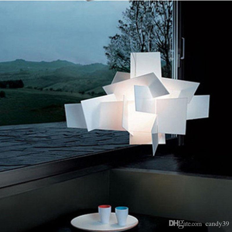 Modern bang pingente luz criativa luz de teto de fixação LED Início Iluminação para Sala de Jantar Quarto Sala Home Lighting PA0052