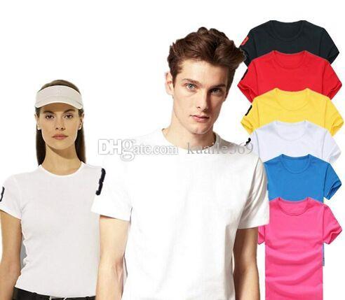 브랜드 큰 작은 말 악어 자수 폴로 셔츠 남자 짧은 소매 라운드 넥 캐주얼 셔츠 남자의 솔리드 티셔츠 캐미사