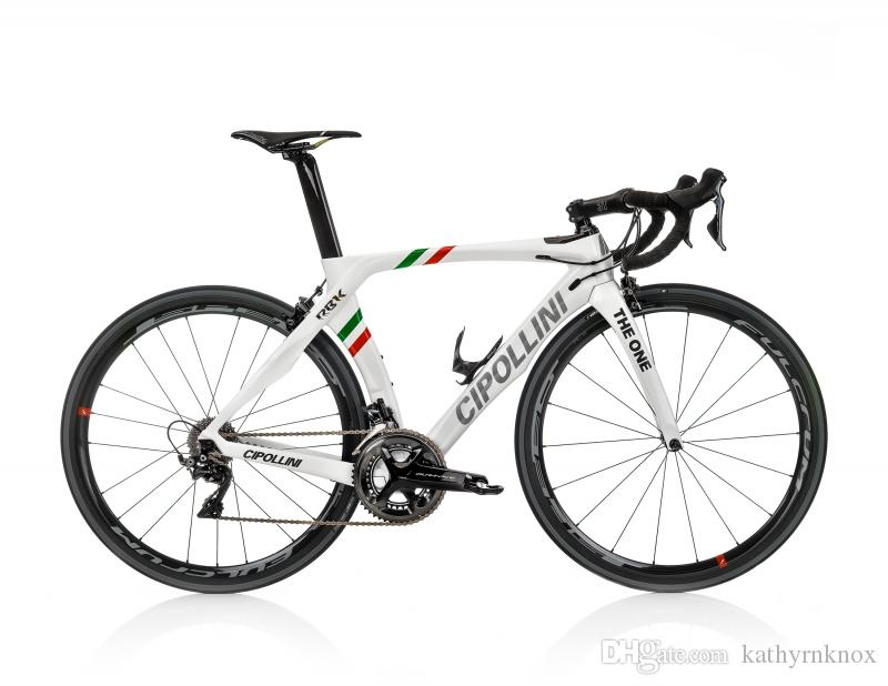 Cipollini RB1K THE ONE Italian Champion Rahmenset 2018 Diy Carbon Road Full Bike/Complete Bike With Ultegra 5800/ R8000 Groupset
