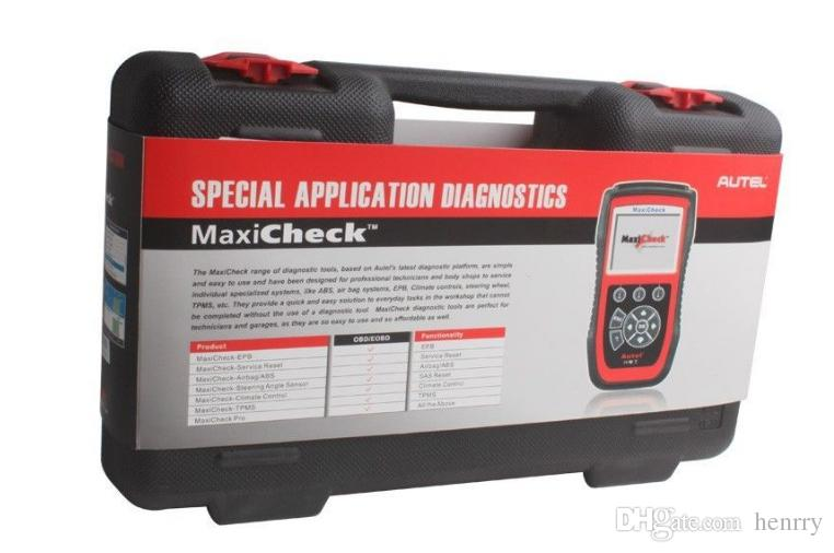 Autel MaxiCheck Pro OBD2 Code Scanner Tool Oil Reset Scan Airbag EPB ABS SRS SAS Update Internet