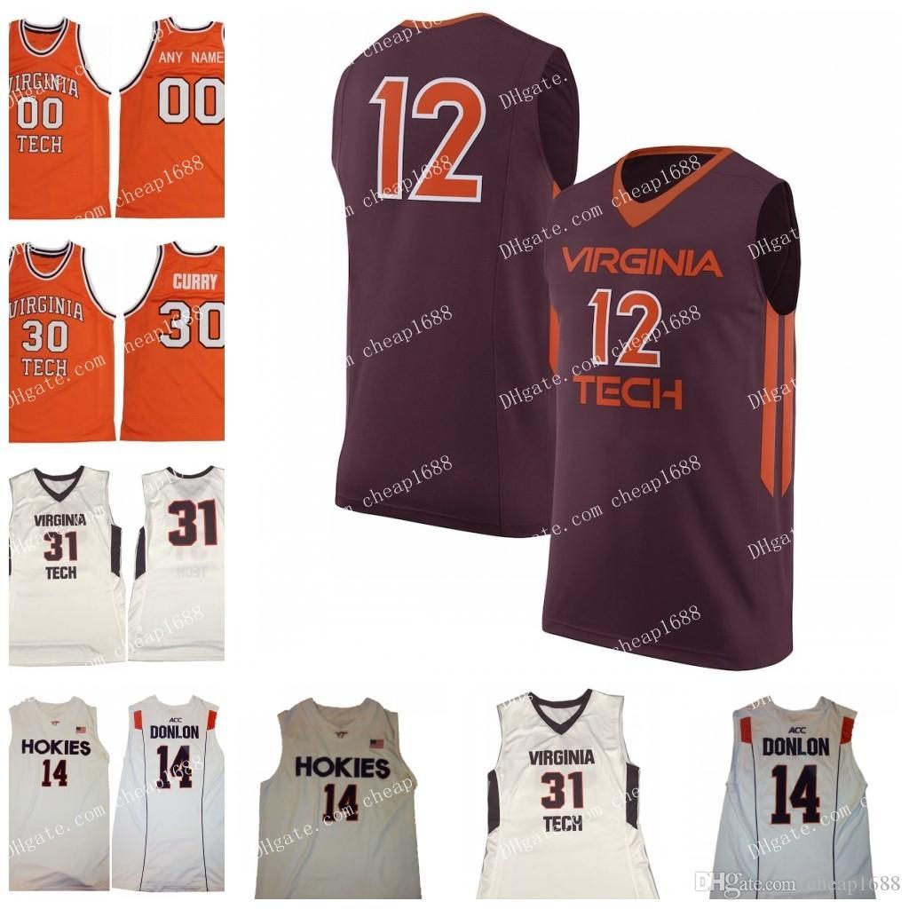 2020 Ncaa Virginia Tech Hokies 23 Tyrece Radford 5 Justin Robinson 1 Isaiah Wilkins White Orange Maroon Stitched College Basketball Jersey From Cheap1688 21 77 Dhgate Com