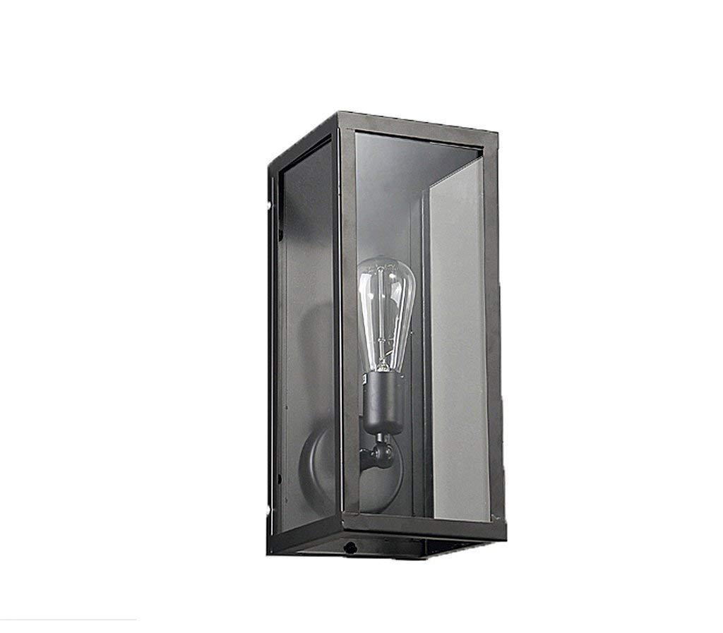 Américain Rétro Allée Salon Chevet Vent Industriel Ventilateur Simple Européen Escalier Extérieur Extérieur Balcon En Fer Lampe