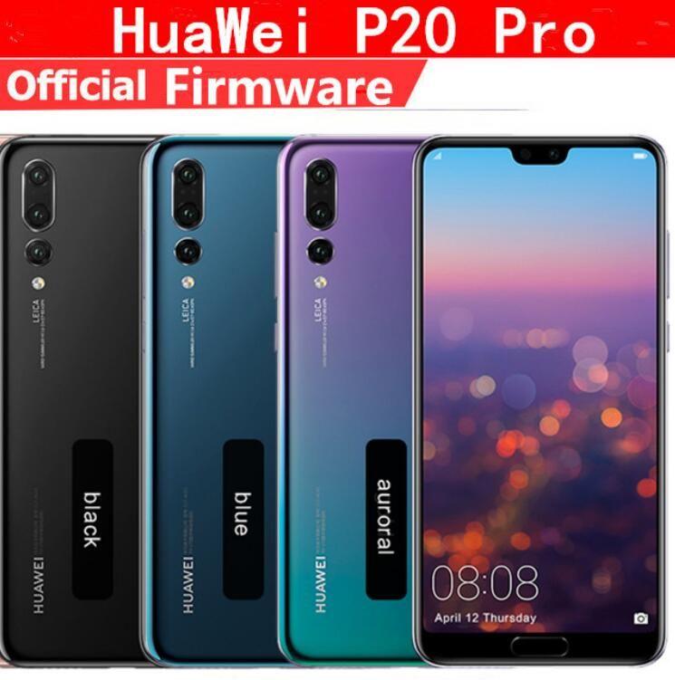 "Twilight Original HuaWei P20 Pro 4G LTE Mobile Phone Kirin 970 Android 8.1 6.1"" Full Screen 2440x1080 6GB RAM 256GB ROM NFC 40.0MP IP67"