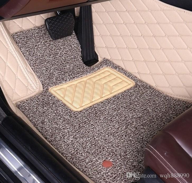 Пользовательские подходят автомобиль коврик для Ford Mustang coupe Ranger T6 F-150 Raptor навигатор Fiesta Fusion Mondeo Куга побег ковер ковры