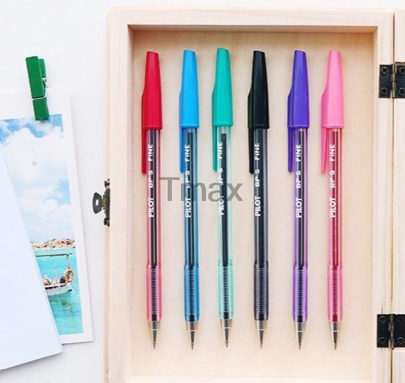 Free ship 5 pcs PILOT BP-S-F 0.7mm ball point pen PINK ink