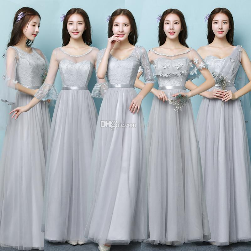 Bridesmaid Long Dresses