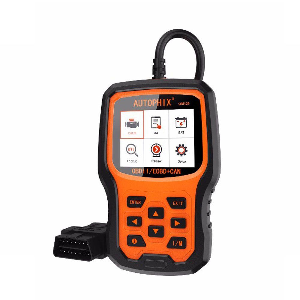 Autophix OM129 OBD2 Automotive Scanner Engine Codeleser Überprüfen Sie, ob die Batterie das Diagnose-Scan-Tool überwacht