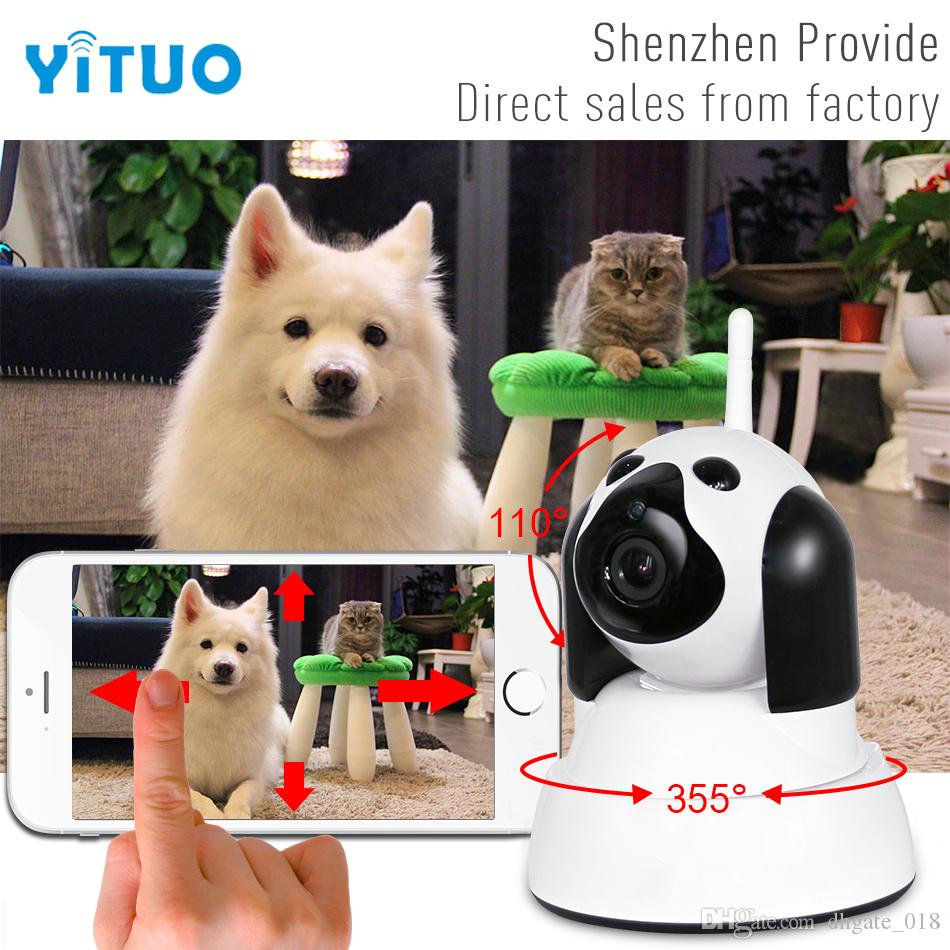 IP Camera WiFi Wireless Smart Dog Security Camera Micro SD Network Rotatable Defender Home Telecam HD 720P CCTV IOS PC YITUO
