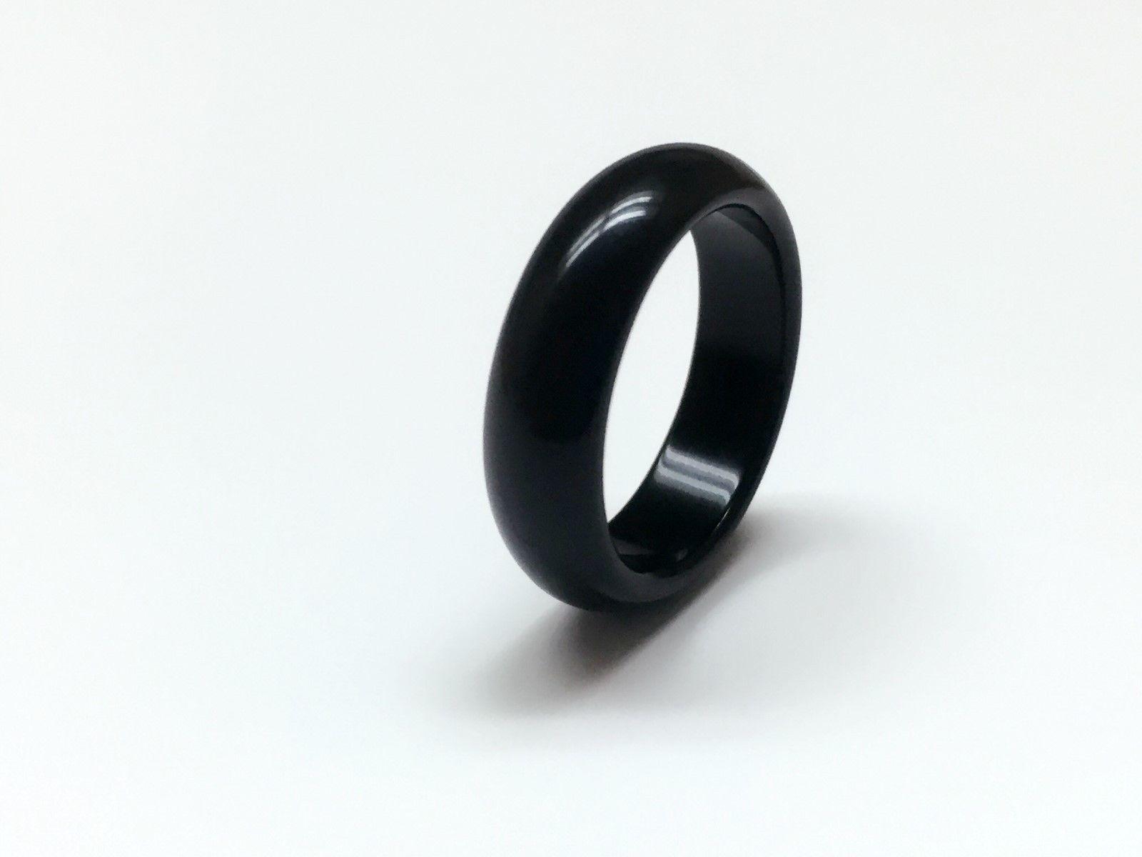 comprar popular 34429 f456c Compre 10 UNIDS 100% Natural Negro Obsidiana Pareja Anillo Negro Anillo  Personalizado Anillo Unisex A $8.04 Del China007awp | DHgate.Com