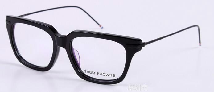 Freeing Brand-2017 new TB-701 glass frame male ladies retro flat mirror frames myopia framework