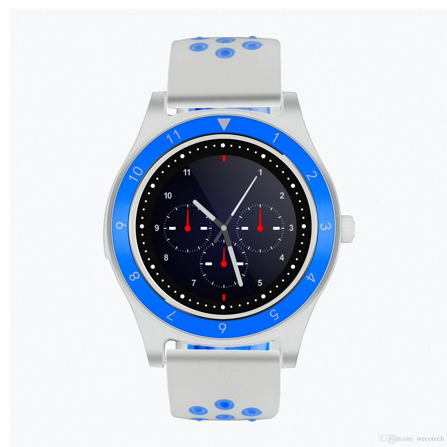 Bluetooth Smart Watch SIM Card Phone Call SMS Built-in Camera Pedometer Sleep Monitor Sedentary Reminder Message Push MP3 Music Player