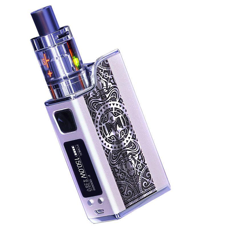 High power e-cigarettes Polarnight Original Authentic 150W Intelligent Temperature Control Vapor Mods Vaporize Steam Smoke Vape Kit