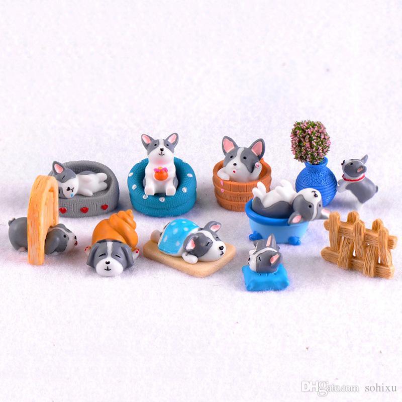 2020 Terrarium Figurines Resin Craft Fairy Garden Miniatures