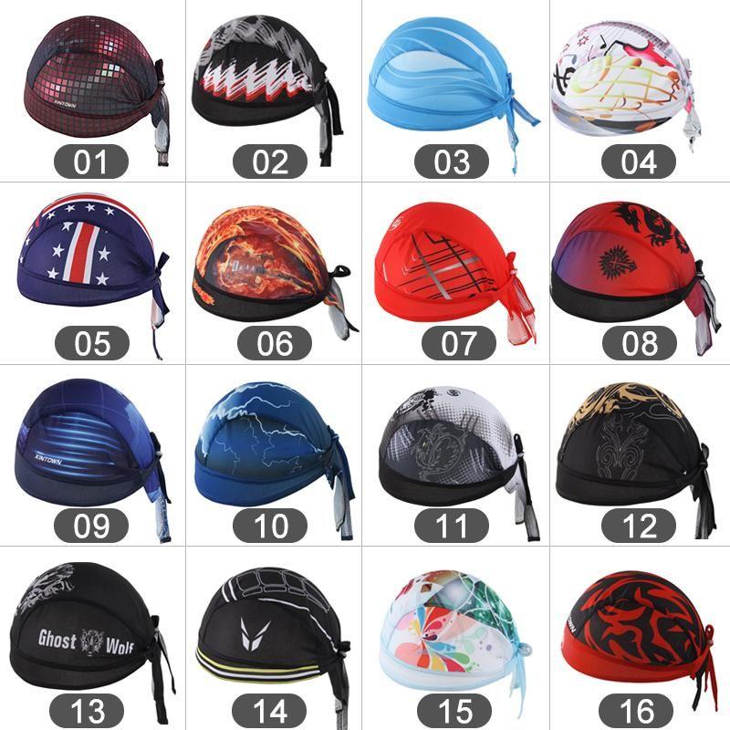 Открытый Велоспорт Ободки Дракон Тигр Велосипед Спорт Cap Cap Bandana Hat