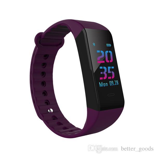 سوار معصمه ووتش الذكية ضغط الدم رصد معدل ضربات القلب تعقب الساعات الذكية للماء ساعة ذكية ل ios الروبوت الهاتف