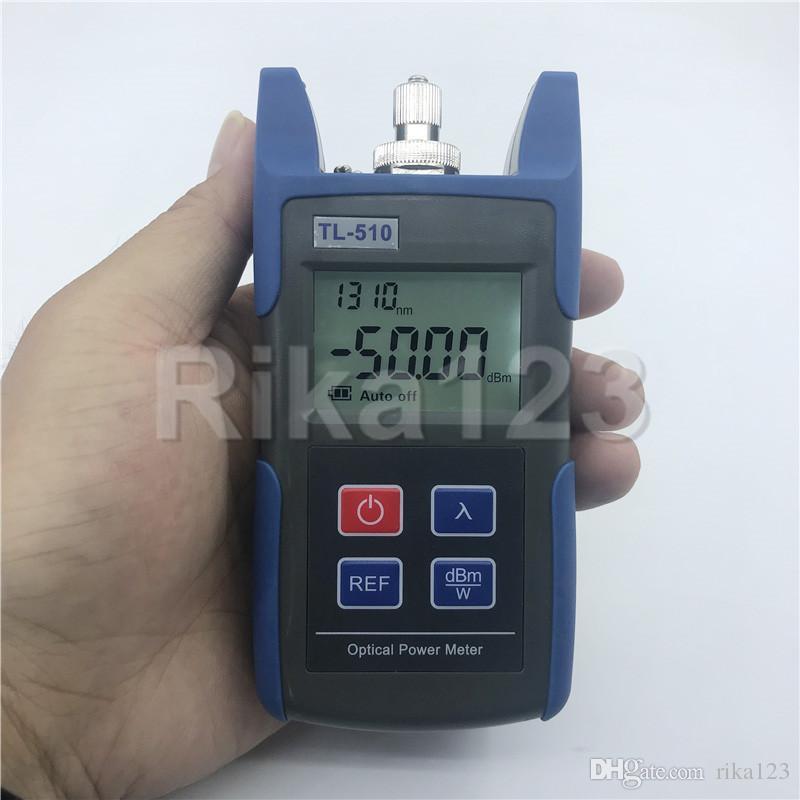 FTTH Mini OPM Lichtwellenleiter TL510 TL510C Lichtwellenleiter Kabel Tester -50dBm ~ + 26dBm mit FC SC ST Stecker