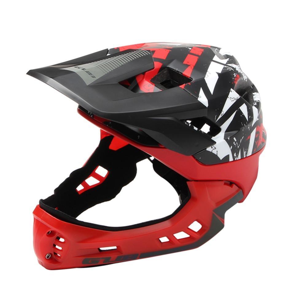 bambini GUB FF bicicletta della bici completa coperto Bambino Casco PC EPS parallelo bambini Sport sicurezza Skating Helmets