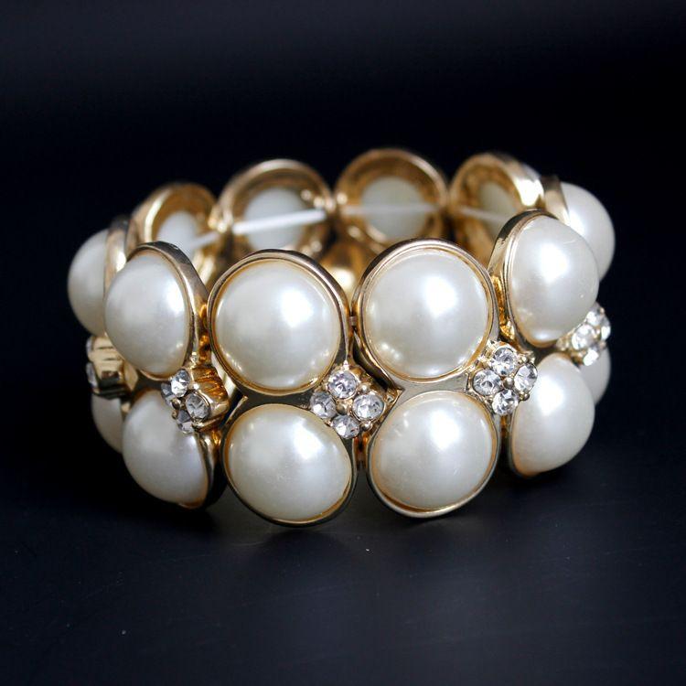 Корейский Ювелирные Изделия Мода Жемчужина Алмаз Атмосфера Браслет