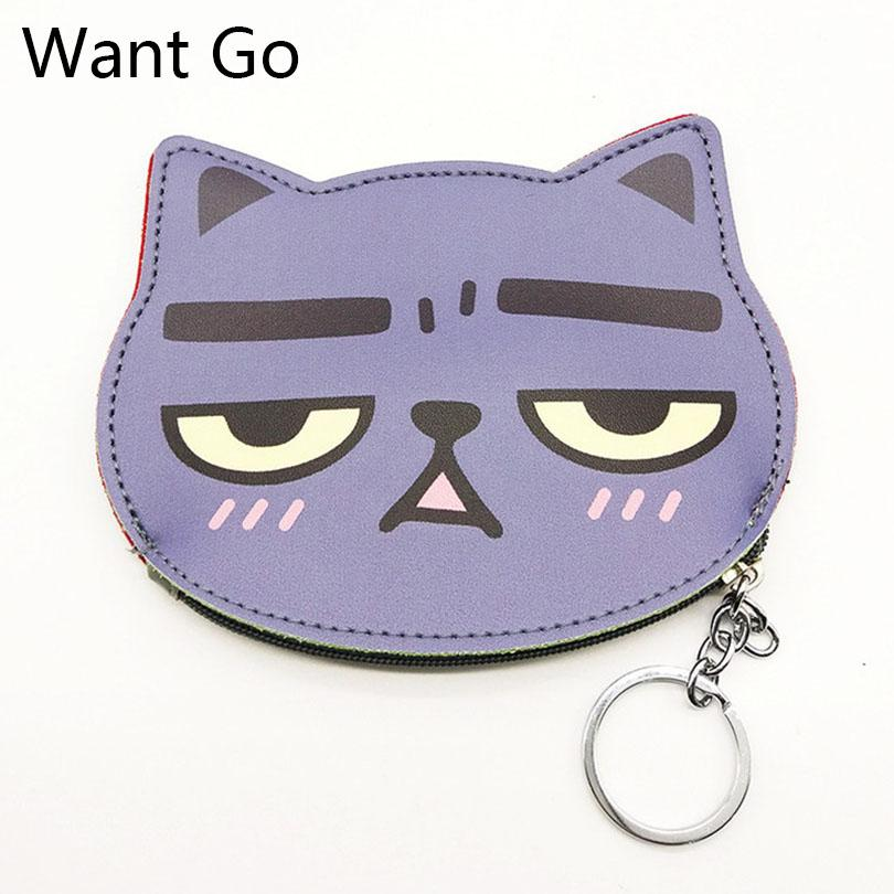 Cat Coin Purse Cartoon Wallet Pouch Children Purse Holder Women Coin Wallet RU