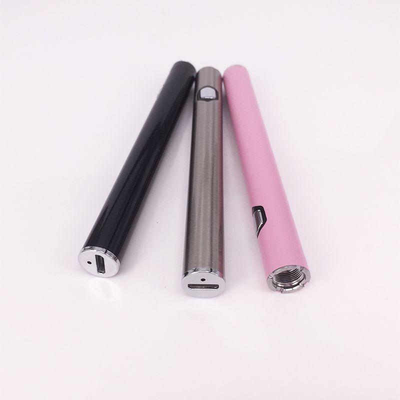 Предварительный нагрев 280 мАч Регулируемое напряжение Vape Батареи 510 Резьба USB Зарядка снизу Ab1004 Аккумулятор Vape Pen