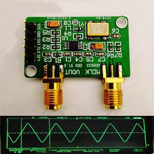 AD9833 interfaz serial Programable Sine Square Onda DDS Generador de señal