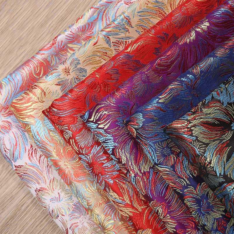 European style Metallic Jacquard Brocade Fabric,3D jacquard fabric, yarn dyed fabric for Womens Coat Dress Skirt By meter