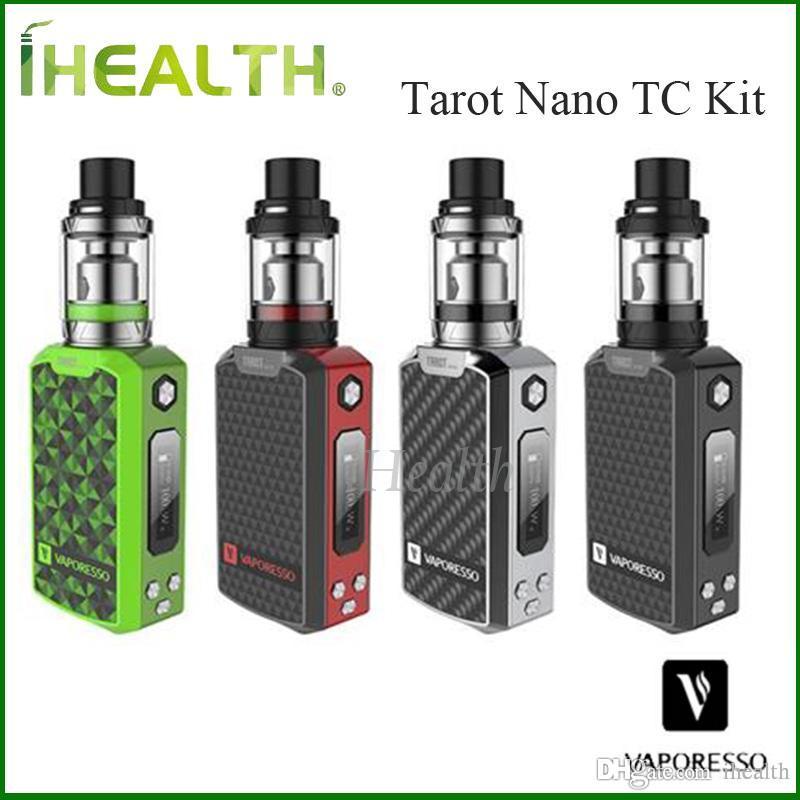 VAPORESSO Tarot Nano Kit with 80w Tarot Nano Mod and EUC Coil Atomizer Head 2ml VECO Tank