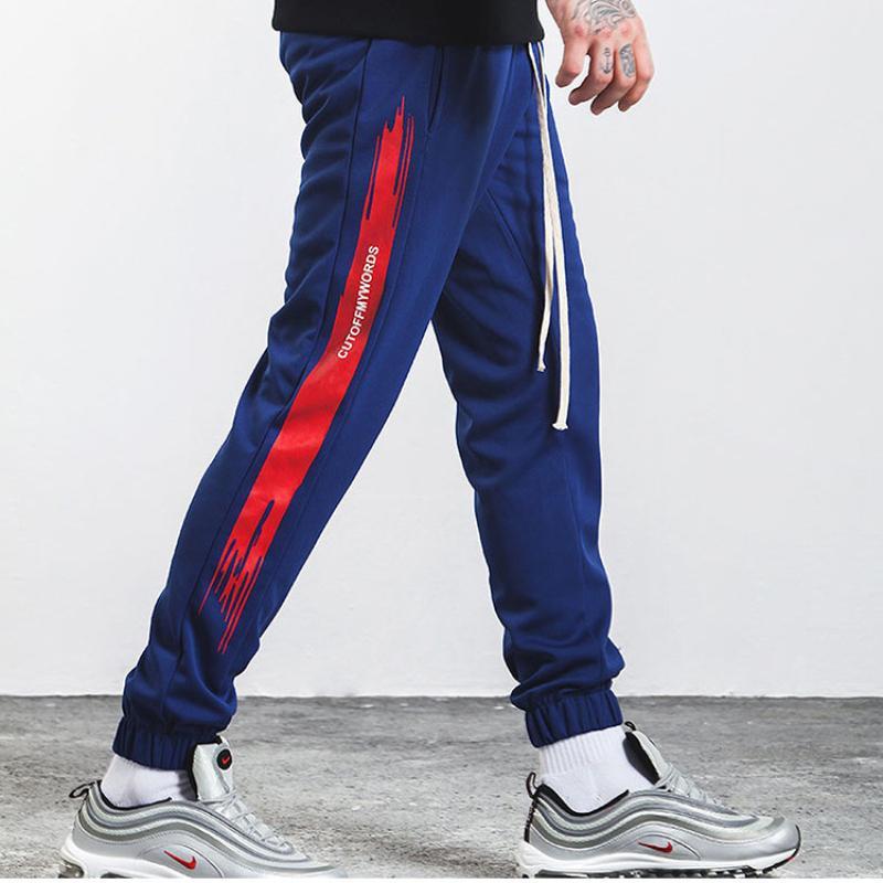 Sweatpants Men Fitness Joggers Pants (3)