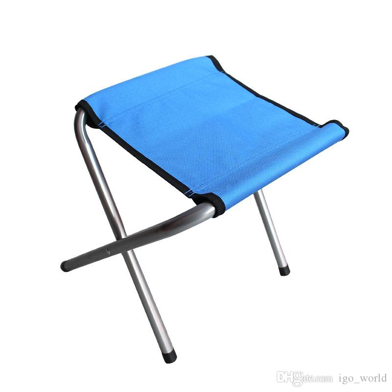 Portable stool Fishing Chair Camping Furniture Canvas stool 250kg Convenient Folding Stools fishing Cushion Folding Chair Free Shipping