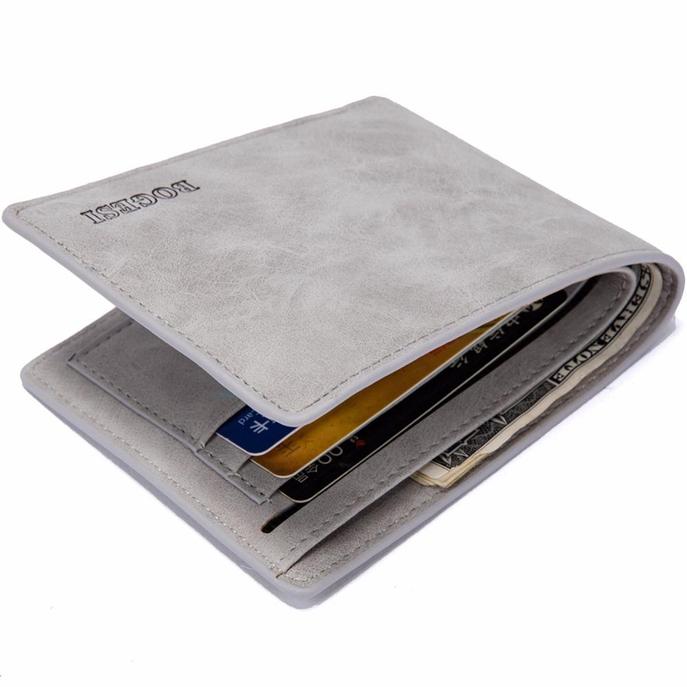 2018 Brand Purses Slim Men's Monnaie Carteira Male Porte Monedero Wallet Masculine Billeteras Wallets Famous Men Thin Wallets Oeuvt