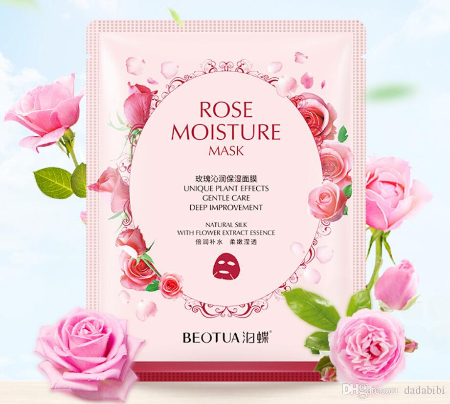 BEOTUA Rose Cherry Masks Moisturizing water Pore Cleaner Oil- control 10 style Masks cheap and large quantity free shipping