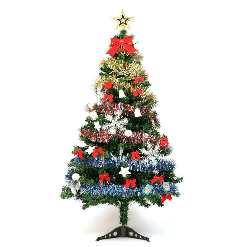 Albero Di Natale 5 Mt.Acquista Albero Di Natale 1 5 Metri Con Decorazioni Albero Di Natale Luci Ornamenti Fiocco Di Neve Decoracion Navidad A 36 34 Dal Kingflower Dhgate Com