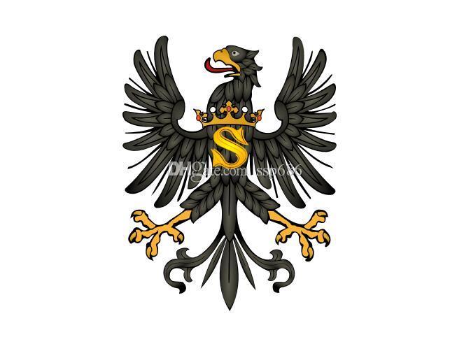 Niemcy Flaga Ducal Prussia (1525-1657) 3ft x 5ft poliester banner latający 150 * 90 cm niestandardowa flaga na zewnątrz