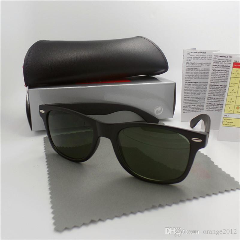 1Pcs 고품질 상표 디자이너 유행 남자 선글래스 UV 보호 옥외 스포츠 빈티지 여자 선글래스 Retro Eyewear 상자와 상자에