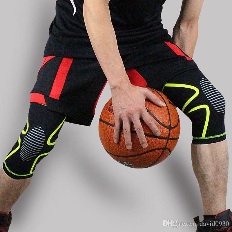 Genouillères Genouillères Brace Genouillères Gym Musculation Wraps Bandage Sangles Garde Compression Genou Manches Brace