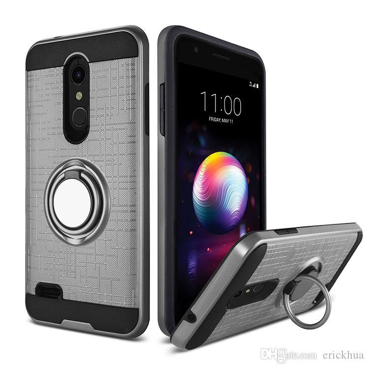 Для Samsung Galaxy S8 S8 плюс Iphone XR XS MAX Alcatel 7 3D Ring 360 градусов подножка Новейший телефон дела