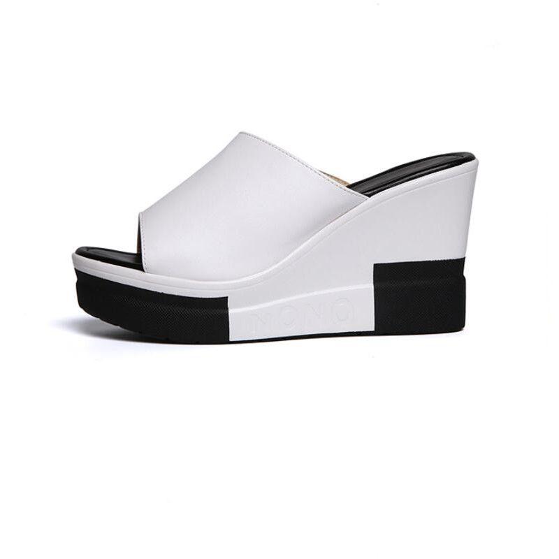 Gladiator Sandals Women Platform Wedges Shoes For Women Sandals 2018 Summer Fashion Ladies Peep Toe Wedges Slippers Women Summer Sandals