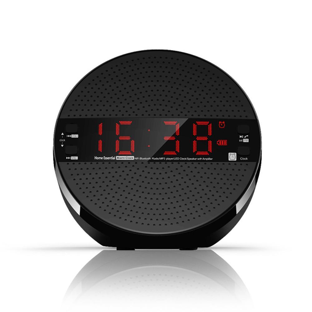 Bluetooth Speaker Clock Radio Alarm Clock Phone Subwoofer Speaker Radio Small Radio Digital Radios From Adamxx, $40.5| DHgate.Com